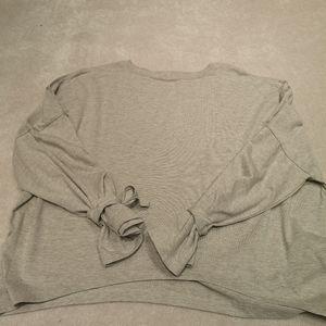 Oak+Fort tied sleeves top